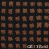 Wilton Squares-333-QR-70-Antique-Gold